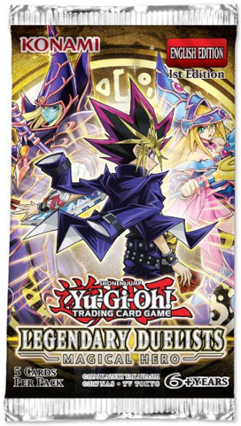 Legendary Duelists: Magical Hero (1st Edition) Booster Pack