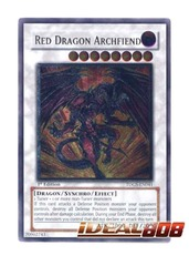 Red Dragon Archfiend - TDGS-EN041 - Ultimate Rare - 1st Edition