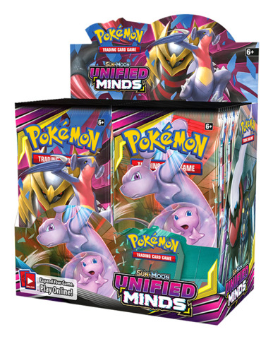 SM Sun & Moon - Unified Minds (SM11) Pokemon Booster Box [36 Packs]