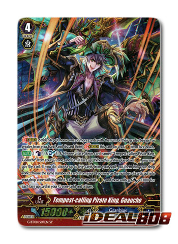 ... Goauche - G-BT08 S07EN - SP - Cardfight Vanguard Singles » G-Booster  Tech Singles (EN) »  CFV  G-BT08 Absolute Judgment (EN) - IDeal808.com 15050010c