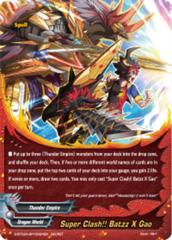 Super Clash!! Batzz X Gao [S-BT02A-SP/0024EN Secret (FOIL)] English
