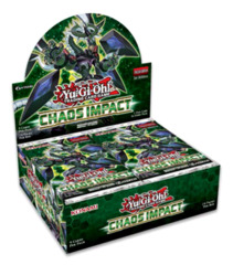 Chaos Impact (1st Edition) Yugioh Booster Box [24 Packs] * PRE-ORDER Ships Oct.25