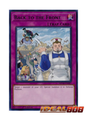 Back to the Front - MP18-EN087 - Rare - 1st Edition