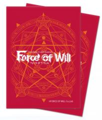 Ultra Pro Force of Will Sleeves Red