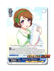 Hanayo in Pajamas [LL/EN-W01-095 U] English