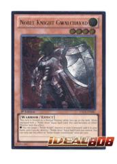 Noble Knight Gwalchavad - LTGY-EN081 - Ultimate Rare - 1st