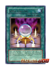 Spell Calling - POTD-EN039 - Rare - 1st Edition