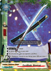 Excelblade, Beastcut [S-BT02/0057EN C (FOIL)] English