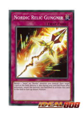 Nordic Relic Gungnir - LEHD-ENB27 - Common - 1st Edition