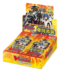 CFV-BT09 Clash of the Knights & Dragons (English) Cardfight Vanguard Booster Box