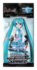 Hatsune Miku Project DIVA f (English) Weiss Schwarz Booster Pack