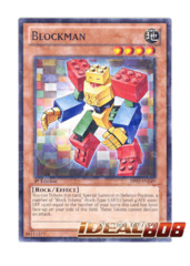 Blockman - BP02-EN049 - Mosaic Rare - 1st Edition
