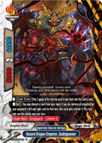 Hazard Dragon Emperor, Gadelgoamer [D-BT03/0077EN U] English
