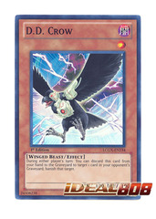 D.D. Crow - LCGX-EN234 - Super Rare - 1st Edition
