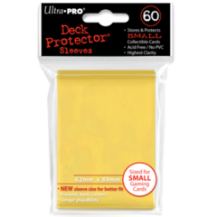 Ultra Pro Small Sleeves 60ct. - Yellow (#82970)