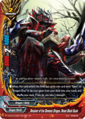 Retainer of the Demonic Dragon, Reset Black Scale [X2-BT01A-SS01/0018EN RR (FOIL)] English