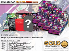 CFV-V-BT02  BUNDLE (C) Gold - Get x8 Strongest! Team AL4 Booster Box + FREE Bonus Items