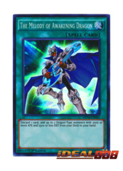 The Melody of Awakening Dragon - MP16-EN041 - Super Rare - 1st Edition