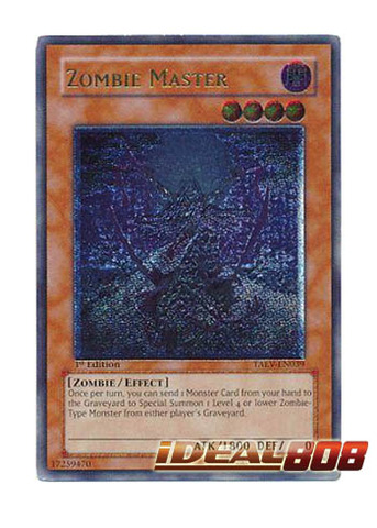 Zombie Master - TAEV-EN039 - Ultimate Rare - 1st Edition