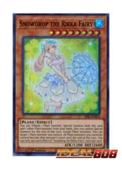 Snowdrop the Rikka Fairy - SESL-EN019 - Super Rare - 1st Edition