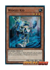 Widget Kid - YS18-EN003 - Super Rare - 1st Edition