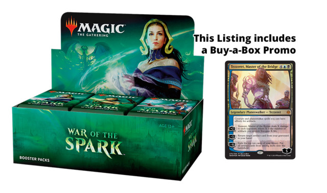 War of the Spark Booster Box [Buy-A-Box Promo included (In-Store Pickup Only)] * Limit 4 per