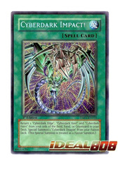 Cyberdark Impact! - TAEV-EN054 - Secret Rare - Unlimited Edition