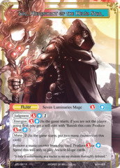 Sol, Dark Commander of Steam // Sol, Hierophant of the Helio Star [LEL-087 R (Foil Ruler)] English