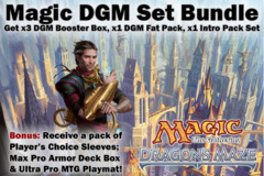 Magic DGM Dragon's Maze Ultimate Bundle - Get x3 DGM Booster Box, x1 DGM Fat Pack, ALL 5 DGM Intro Packs + Bonus