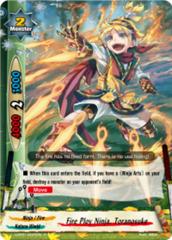 Fire Ploy Ninja, Toranosuke [H-PP01/0025EN R (FOIL)] English