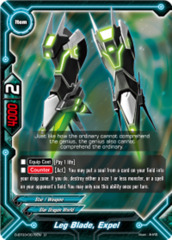 Leg Blade, Expel [D-BT03/0076EN U (FOIL)] English
