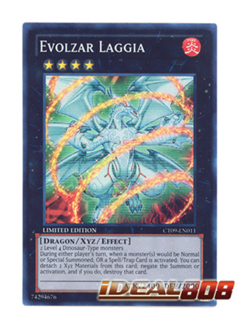 Evolzar Laggia - CT09-EN011 - Super Rare - Limited Edition