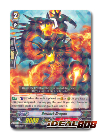 Berserk Dragon - EB09/011EN - R