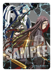 Sword Art Online II Sinon & Kirito Broccoli Vertical Playmat