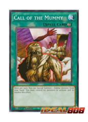 Call of the Mummy - SR07-EN028 - Common - 1st Edition