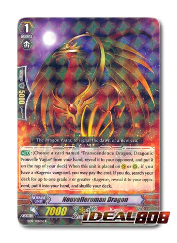 Nouvelleroman Dragon - EB09/014EN - R