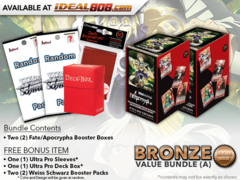 Weiss Schwarz APO Bundle (A) Bronze - Get x2 Fate/Apocrypha Booster Boxes + FREE Bonus Items
