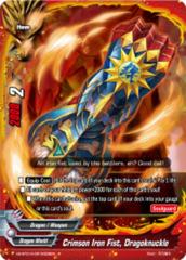 Crimson Iron Fist, Dragoknuckle [X2-BT01A-SP/0028EN R (Glossy)] English