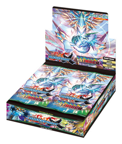 BFE-X-BT04 Rainbow Striker (English) Future Card Buddyfight X Booster Box