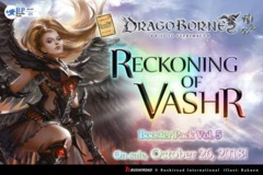 DB-BT05 Reckoning of Vashr (English) Dragoborne Booster Box