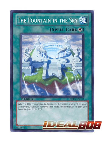 The Fountain in the Sky - SDLS-EN032 - Common - Unlimited Edition