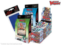 Cardfight Vanguard G-CHB01 G-TD11 G-TD12 Variety Pack - Get x2 TRY3 NEXT Box; x1 Divine Knight; x1 Flower Princess Decks
