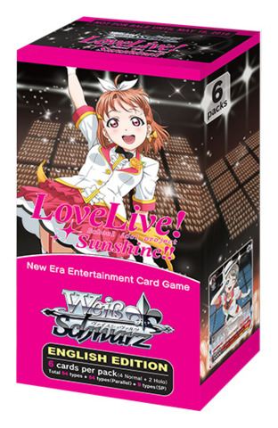 Love Live! Sunshine!! (English) Weiss Schwarz Extra Booster Box * PRE-ORDER Ships May.18