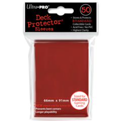 Ultra Pro Large Sleeves 50ct. - Red (#82672)