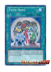 Fifth Hope - LCGX-EN098 - Secret Rare - 1st Edition