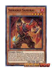 Shiranui Samurai - HISU-EN049 - Super Rare - 1st Edition