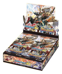 BFE-S-BT05 War of Dragods (English) Future Card Buddyfight Ace Booster Box [30 Packs]