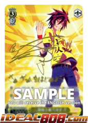 Imanity's Representative, Sora [NGL/S58-E003SP SP (SIGNED FOIL)] English