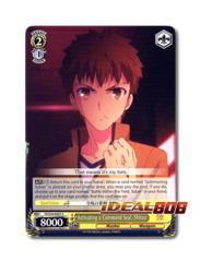 Activating a Command Seal, Shirou [FS/S34-E027 C] English Common