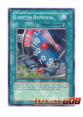 Limiter Removal - RP02-EN015 - Super Rare - Unlimited Edition